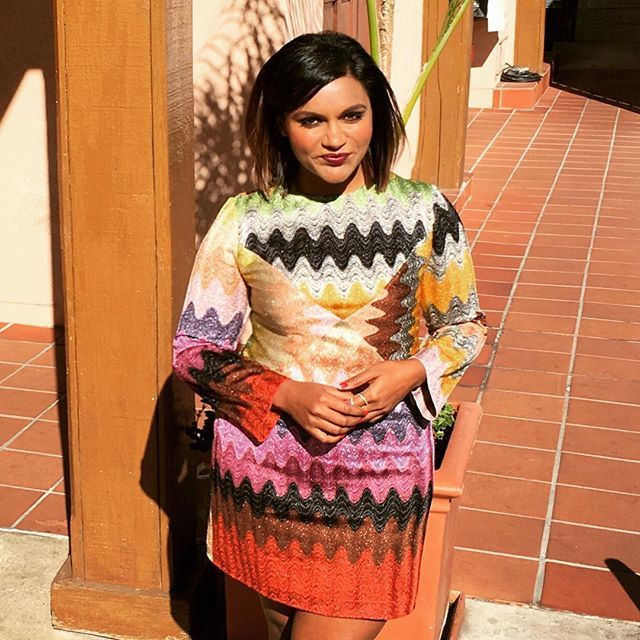 Pin for Later: Mindy Kaling's Latest Look Will Make You Wonder Why You Ever Bought That LBD
