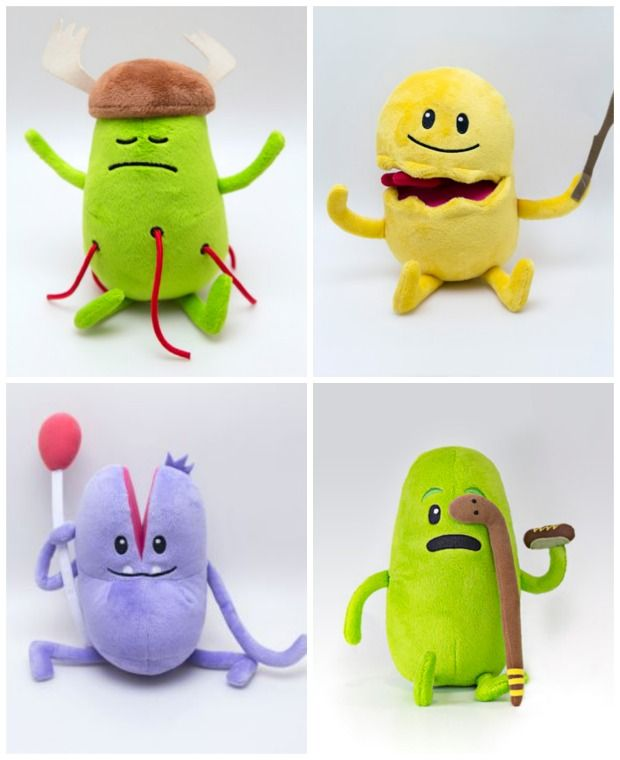 dumb ways to die - plush toys