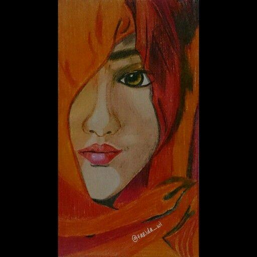 #coloredpencils #drawing #art #veil