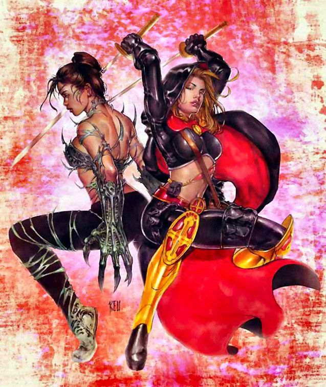 Warriors Of The Dawn Ver Online: 69 Best Magdalena / Witchblade Images On Pinterest