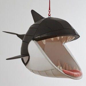 Porky Hefer's Fiona Blackfish is a killer-whale-shaped hanging chair