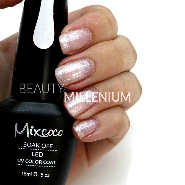 #Mixcoco #gellak #067 'French Manicure' verkrijgbaar via www.beautymillenium.nl - prijs €14,95 ✨ minimaal 2 weken lang prachtig gelakte #nagels met #MixcocoGellak #nails #gelnails #manicure #gelmanicure #nailart #gellish #gellac #gelish #gelnagellak #mani #nailartclub #beauty #nailpolish #nudenails #whitenails #Frenchmanicure #frenchnails #pearlnails