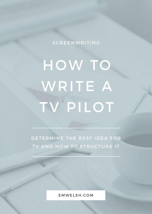 how to write a tv script outline
