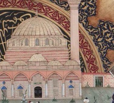 Silivri kapı Hadım İbrahim Paşa Cami  (detay)