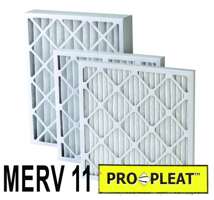 Pro Pleat MERV 11 Pleated Furnace Air Filter (12 Pack) 'Best'