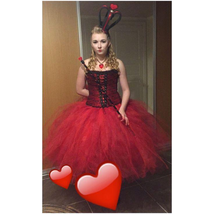 Queen of hearts, costume, cosplay, tutu