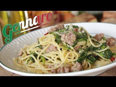 grelos de nabo!! Simple Sausage Spaghetti | Amalfi Coast - YouTube