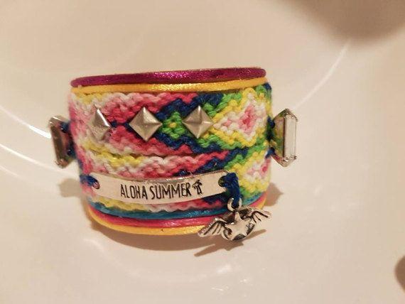 Vriendschap armband  zigeuner armband  door SasCreationsStore