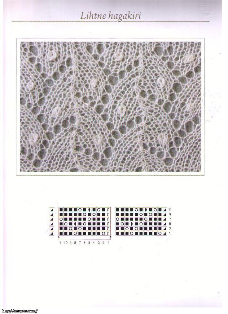 Estonian Lace ~~ Вязание Дизайн Декор Роспись Мода Красота Донецк www.mirpiar.com