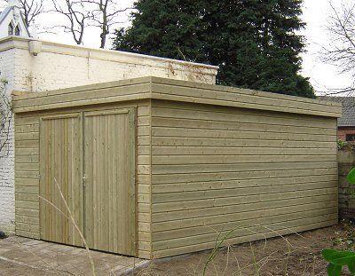 Maatwerk houten tuinhuisjes, prieeltjes, prefab bergingen en garages - Van Aarle Houtbedrijf B.V. - Van Aarle Houtbedrijf B.V.