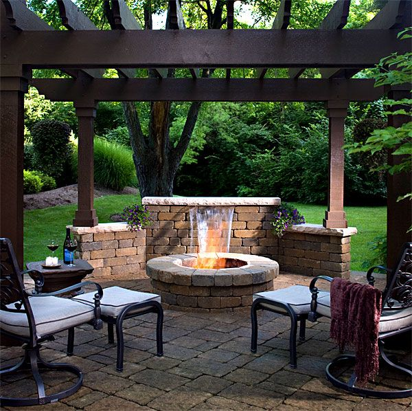 Firepits And Grill Kits This Is What I Want Hubby To Build For Me In Back