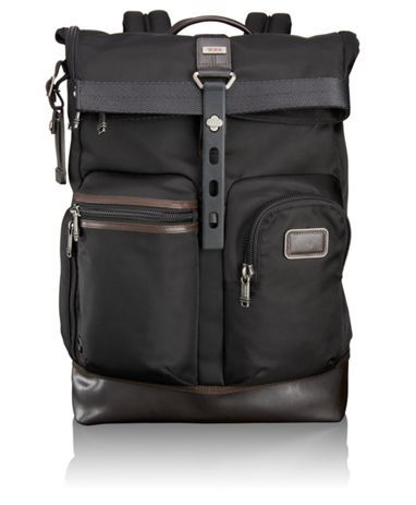 From our Bravo collection of soft, unstructured and more casual business and travel designs comes this ruggedly-refined roll top backpack tote. Designed to be stuffed, this super durable bag holds your phone, tablet and laptop plus papers or files and enough clothes to get you through the weekend. Comfortable, padded backpack straps. Top zip closure. Additionally, the back section includes a zippered pass-through that allows you to access the main compartment without unrolling the top of…
