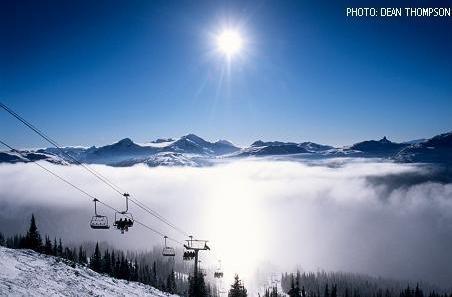 Snowboard in Whisler
