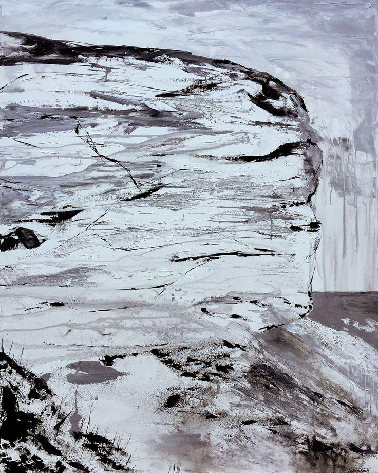 Fuglefjeldet - Kunstværk af Hanne Langebæk