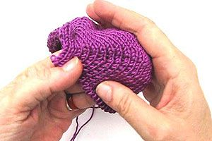 Lückenlose Bumerangferse á la eliZZZa | Stricken lernen, Häkeln lernen mit eliZZZa * Socken stricken, Stricken Anleitungen,Strickmuster, Häkelmuster, Häkelanleitungen