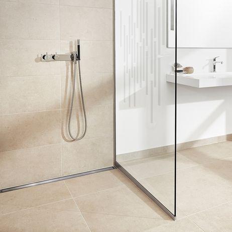 Unidrain GlassLine & HighLine #showerscreen #bathroom #badeværelse #design #minimalistic #nordicdesign #design #inspirational #interior