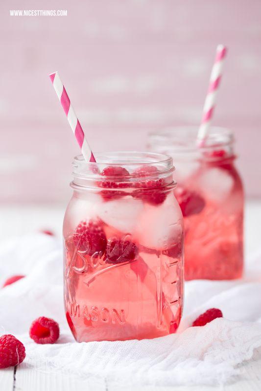 Himbeer Cocktail mit Himbeerwodka