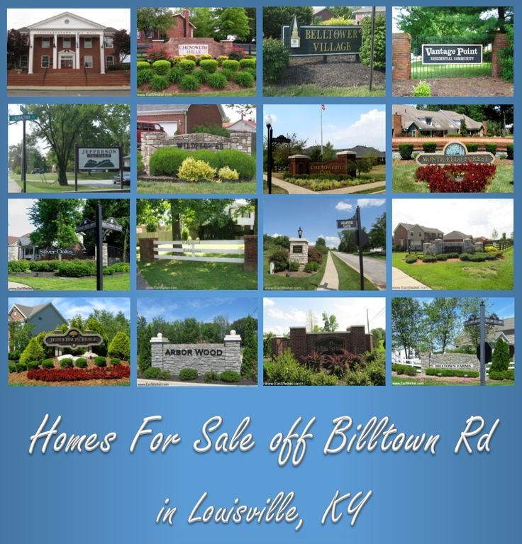 Condos, Houses, And Patio Homes For Sale Off Billtown Rd Louisville KY  Jeffersontown Fern