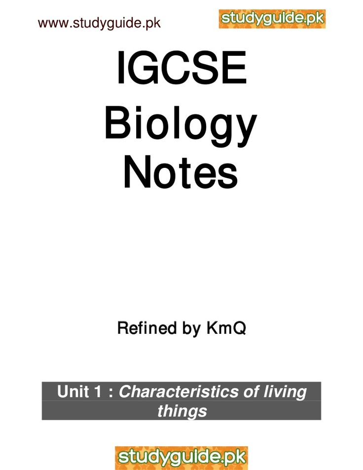 module 1 biology notes essay Chapter 1: structure and function of the cell introduction to the cell both living and non-living things are composed of molecules made from chemical elements such as.