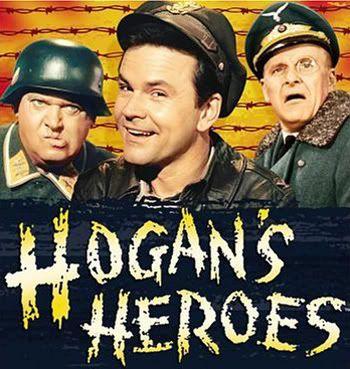 Hogan's Heroes (1965-71), starred Bob Crane, Richard Dawson and Werner Klemperer.
