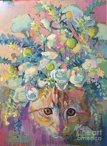Painting - Trouble by Kimberly Santini