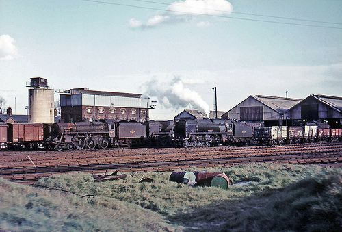 Eastleigh shed, March 1967 | A shot taken from a passing tra… | Flickr