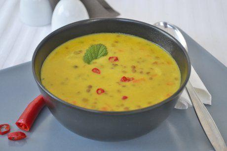 Linsen-Curry-Suppe-Rezept