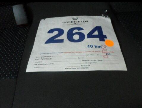 10 K run