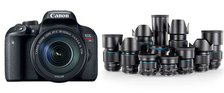 Best Lenses for Canon EOS Rebel T7i - Best Father's Day Gifts