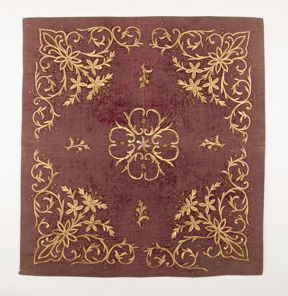 OTTOMAN Turkish BOKHCHE Panel in Sarma Technique id: 0187 FREE shipping with ups.