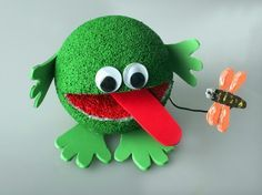 styrofoam ball crafts for kids - Google Search                                                                                                                                                      More