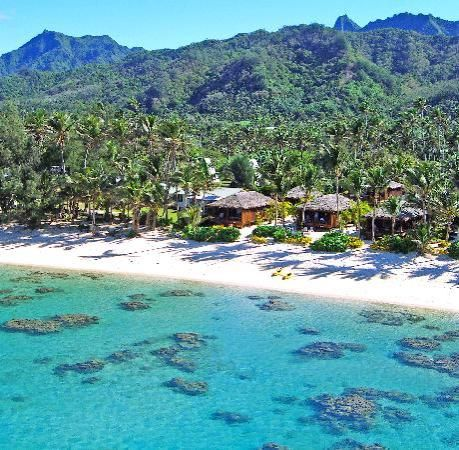 Rarotonga Beach Bungalows; maybe for our 20th anniversary? if I can't go without the kids we'll have to bring a sitter, I am sure I can find volunteers.