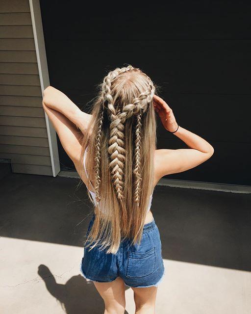 un super peinado