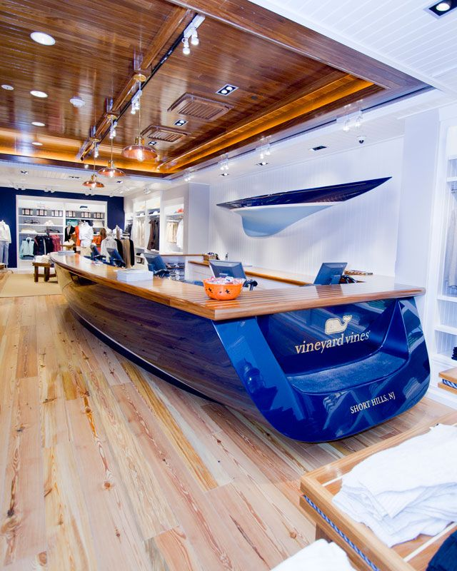 Is it a boat or a reception desk reception pinterest for Office design yorkshire