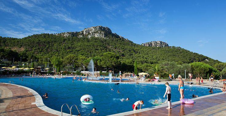 Camping Castell Montgrí  niet vlak aan strand, 105m2