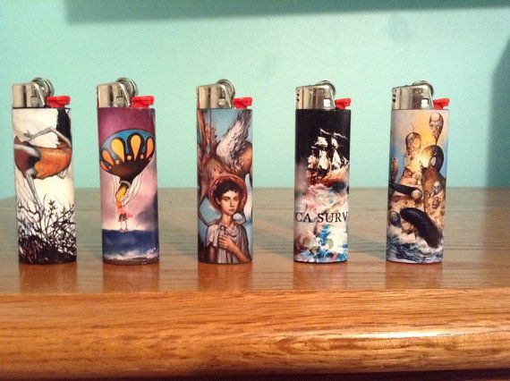 Circa survive lighters by Lightspo on Etsy