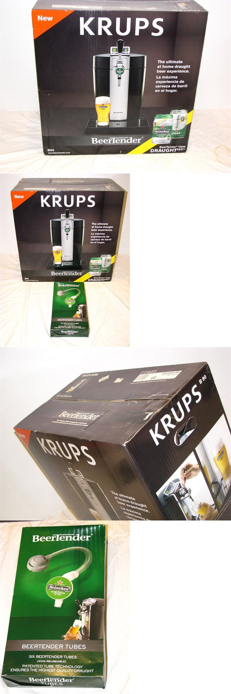 Liquor and Beer Dispensers 103429: Krups B90 Beertender Home Beer Tap System Brand New With Tubes -> BUY IT NOW ONLY: $150 on eBay!