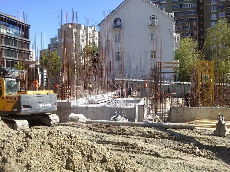 Процесс строительства New York Concept House 04.05.2016