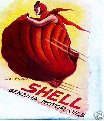 Shell - Marcello Dudovich