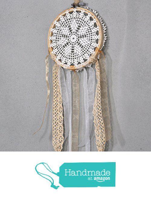Bohemian Crochet Doily Dream Catcher from Modern Crochet Club http://www.amazon.com/dp/B0171OYKHQ/ref=hnd_sw_r_pi_dp_sp9kwb0YJHM36 #handmadeatamazon