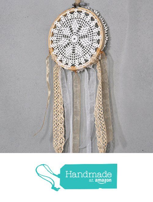 Bohemian Crochet Doily Dream Catcher from Modern Crochet Club http://www.amazon.com/dp/B0171OYKHQ/ref=hnd_sw_r_pi_dp_sp9kwb0YJHM36 #handmadeatamazon
