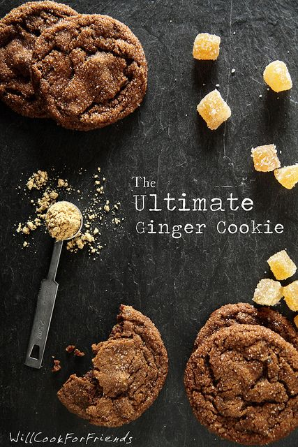 Can't wait to try these triple ginger cookies :-)  The Ultimate Ginger Cookies by WillCookForFriends