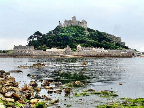 St. Michael's Mount- an Island off of Penzance, England