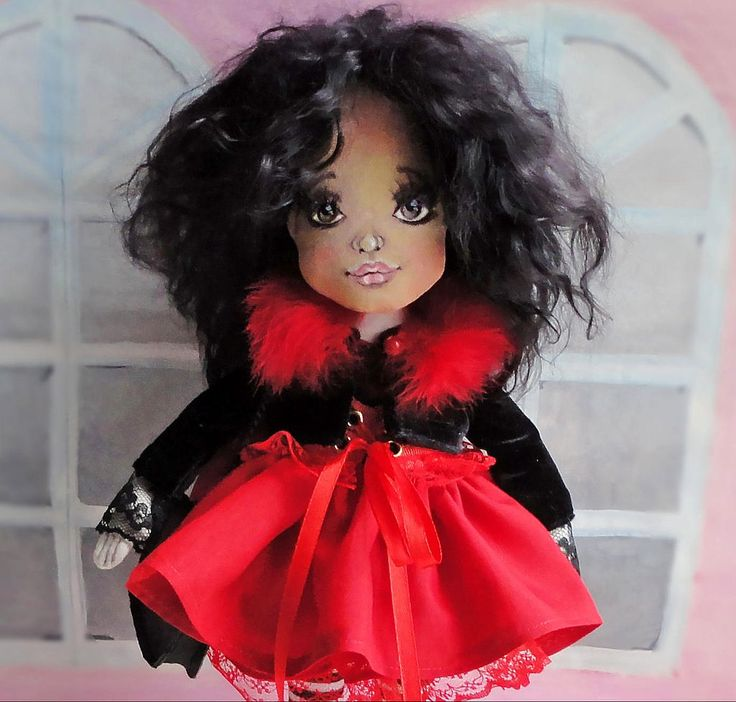 https://flic.kr/p/21Gdr3y | Кармен | Textile doll