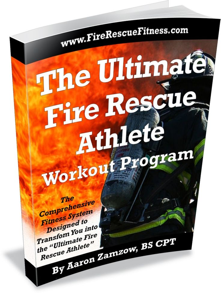 This is the most effective and efficient workout for firefighters, emts and paramedics. Over 10 years in the making, the Ultimate Fire Rescue Athlete is created by a firefighter that understands the high physical demands of the job.