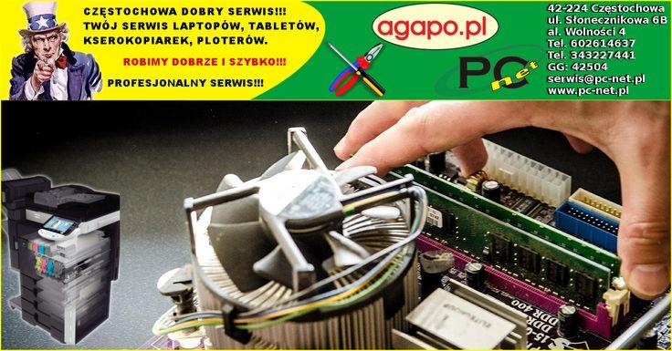 Serwis Laptopów Częstochowa od Poniedziałku do Piątku w godzinach od 8:00 do 16:00. Szybka ekspertyza, niski koszt naprawy.