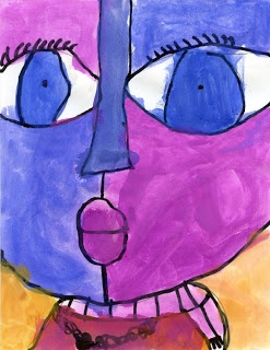 Big face painting - Picasso