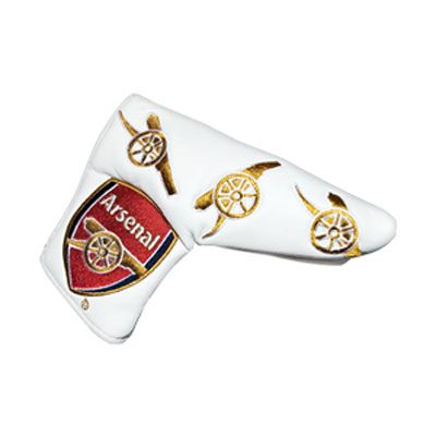 ARSENAL Blade Puttercover With Detachable Ball Marker. Official Licensed Arsenal golf gift. FREE DELIVERY ON ALL OF OUR GIFTS