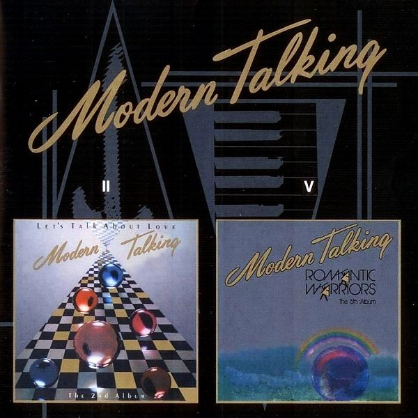 Modern Talking - Let's Talk About Love / Romantic Warriors (CD) at Discogs