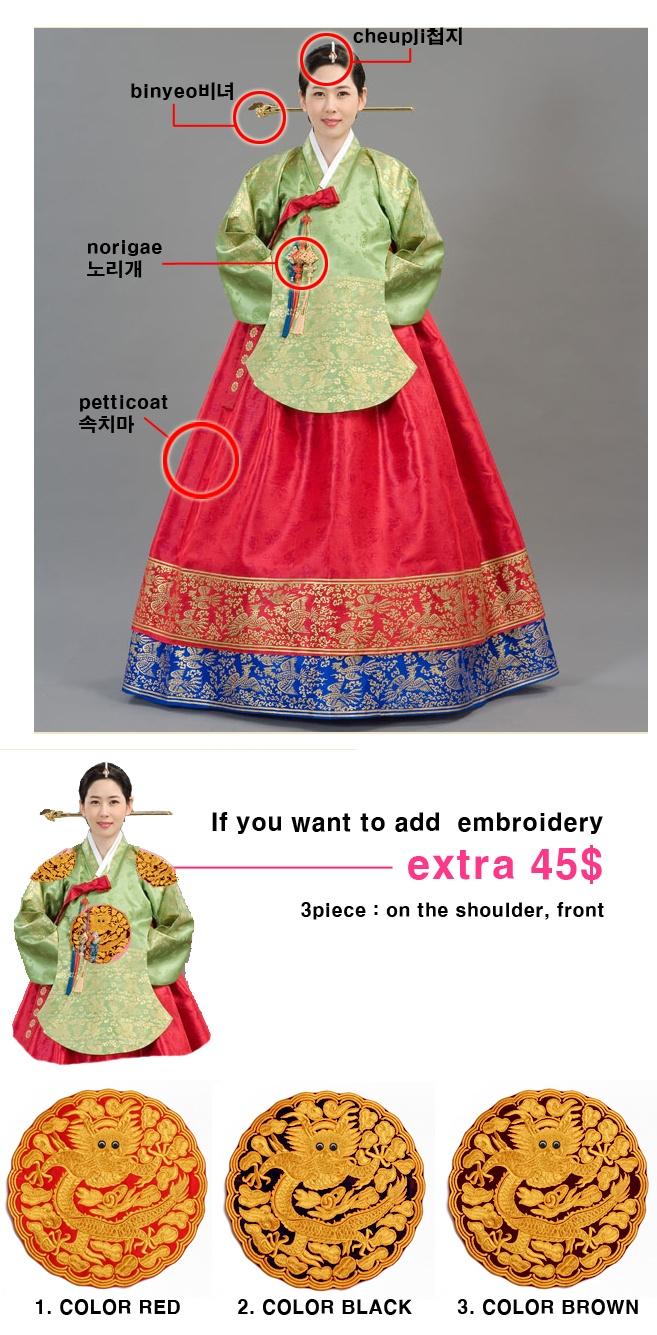 Dangui(dangwi)-Korean royal costume (queen,princess) in Joseon dynasty